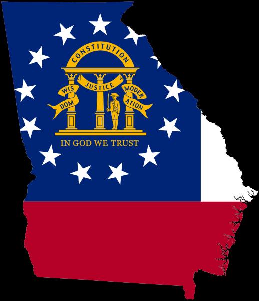 Georgia Georgia Flag Georgia Map Georgia Us