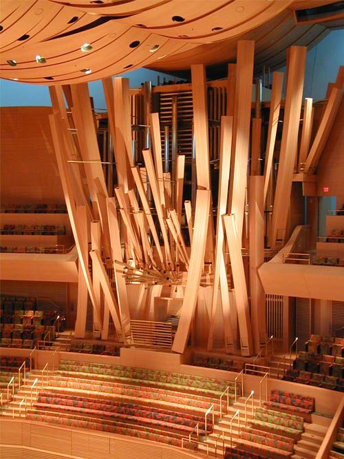 The Walt Disney Concert Hall Los Angeles California