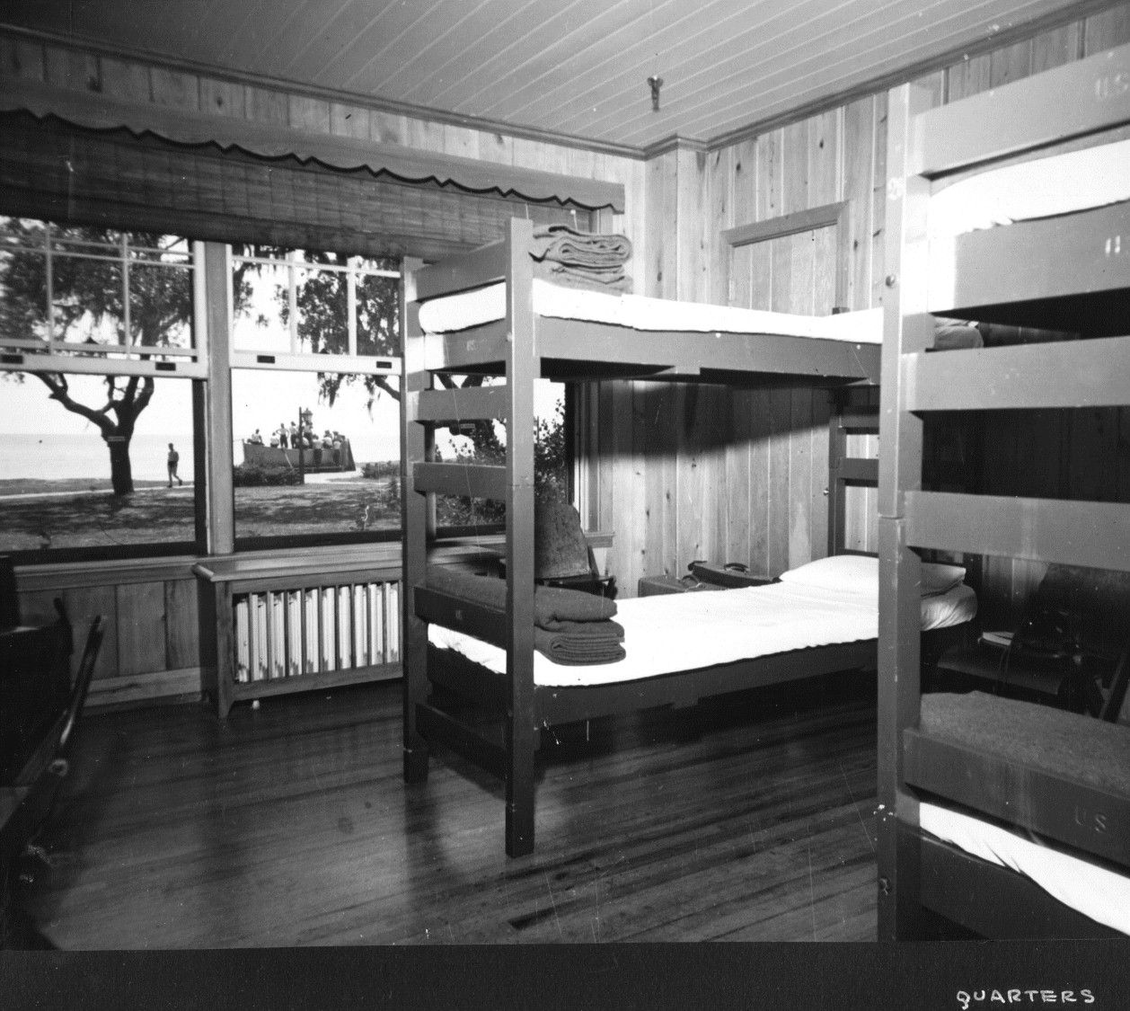 World War II Operation Ivory Soap Sleeping Quarters in