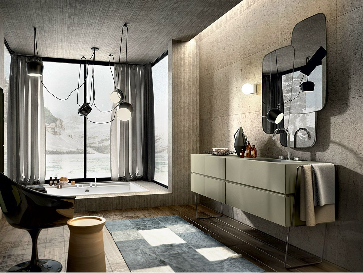 Bathroom vanity inspirations by edone design - Bathroom Vanity Inspirations By Edone Functional Aesthetically Pleasing And Modern