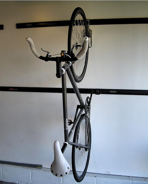 Rubbermaid Fasttrack Storage System   Rubbermaid Fast Track Vertical Bike  Hook