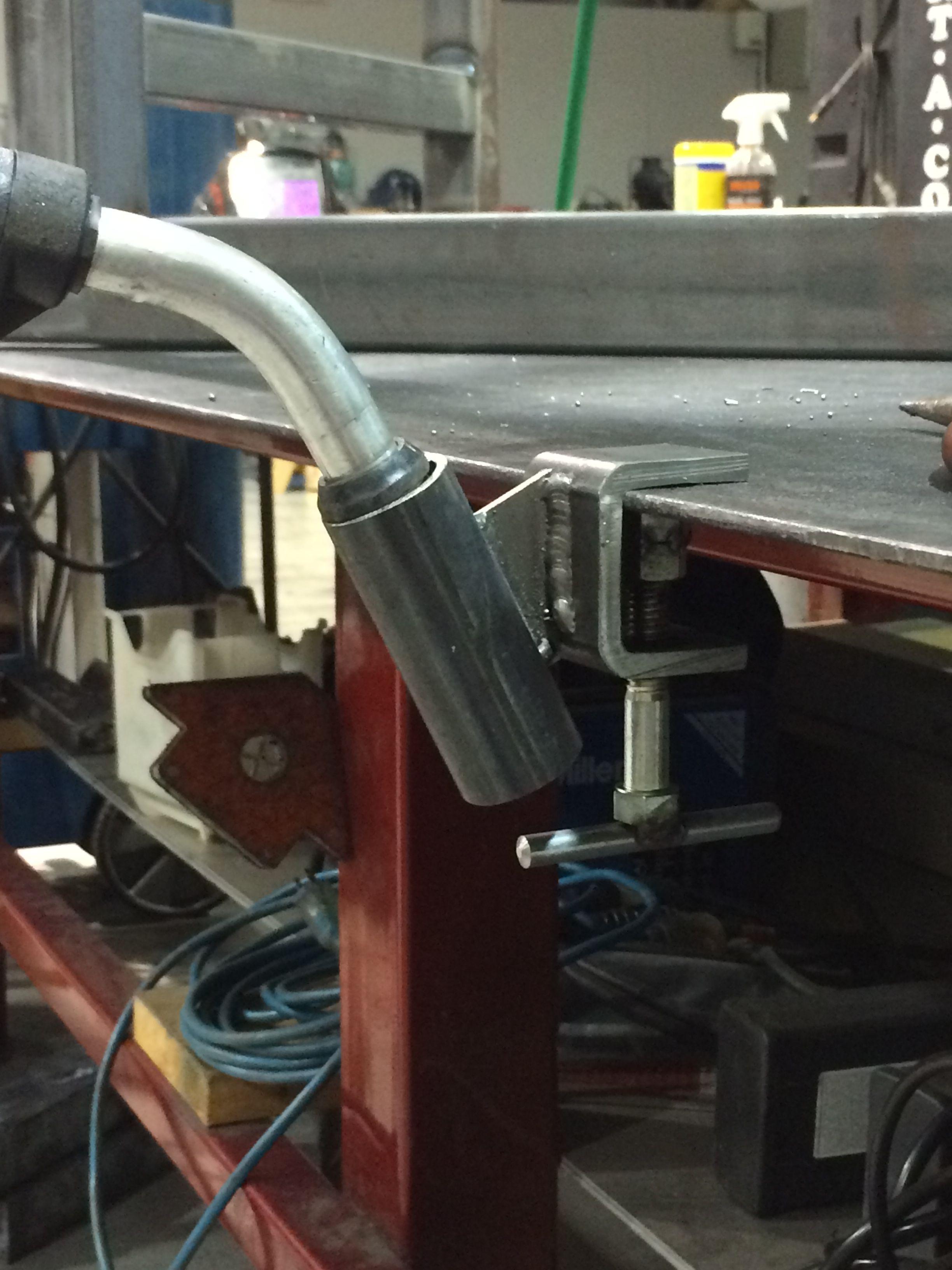 Mig Welder Gun Holder Shop Pinterest Guns Welding