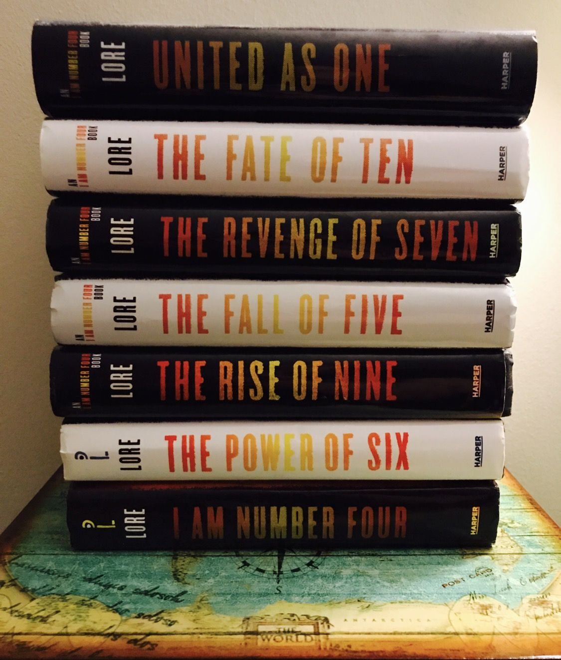The I Am Number Four Series/ Lorien Legacies | Lorien ...
