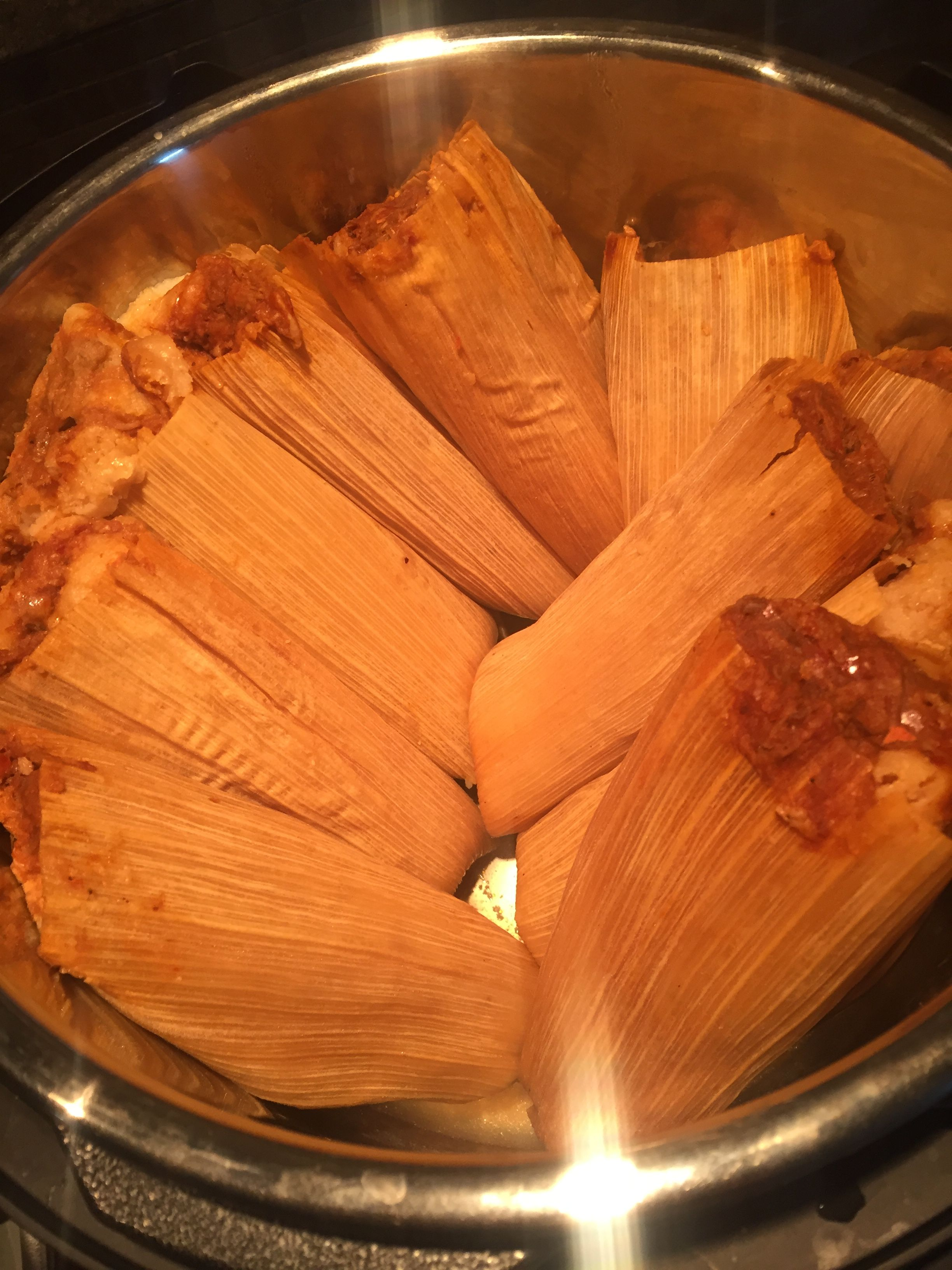 Cooking Frozen Costco Tamales In The Instant Pot Put Rack In The Bottom Add Water To Just U Instant Pot Dinner Recipes Instant Pot Recipes Instant Pot Costco