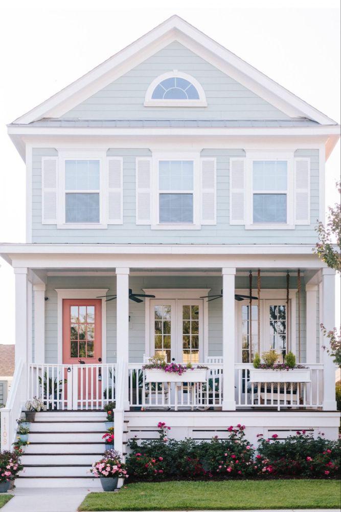 Charleston Home Exterior Paint Colors | Charleston Blonde