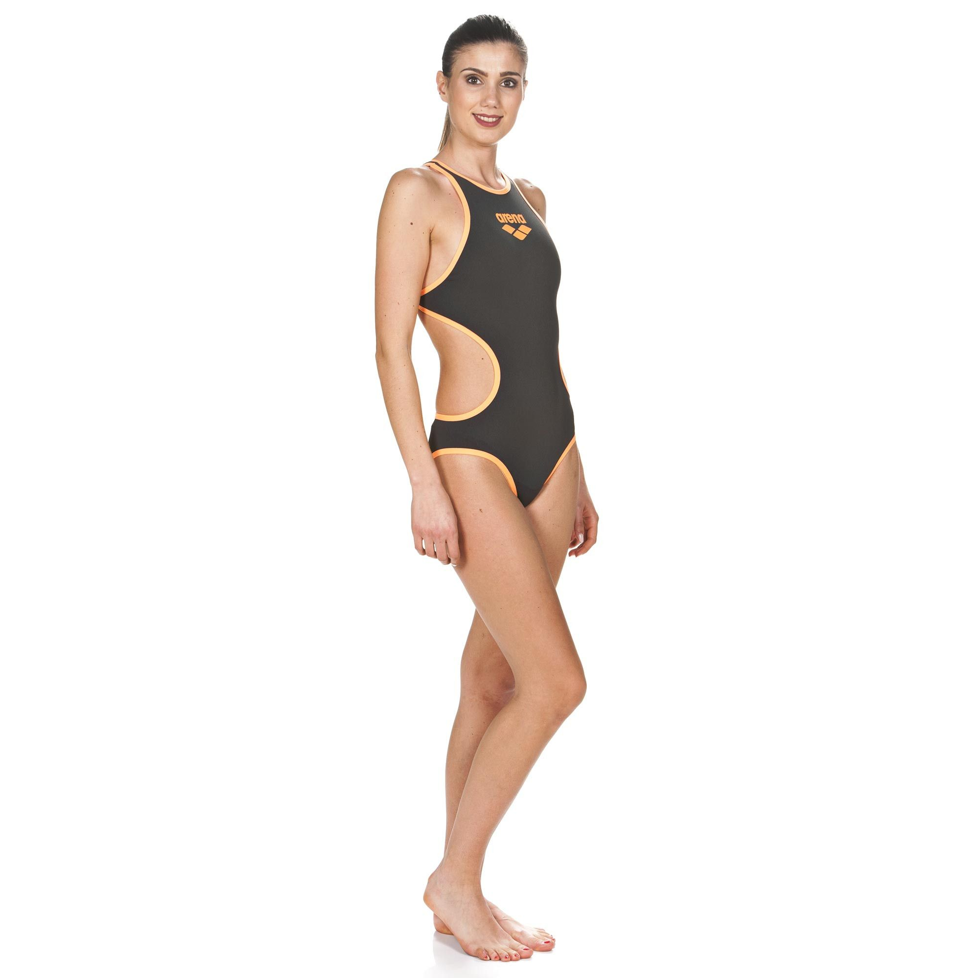 57154a91b9f37 Women's Arena One Biglogo One Piece Swimsuit | arena Training ...