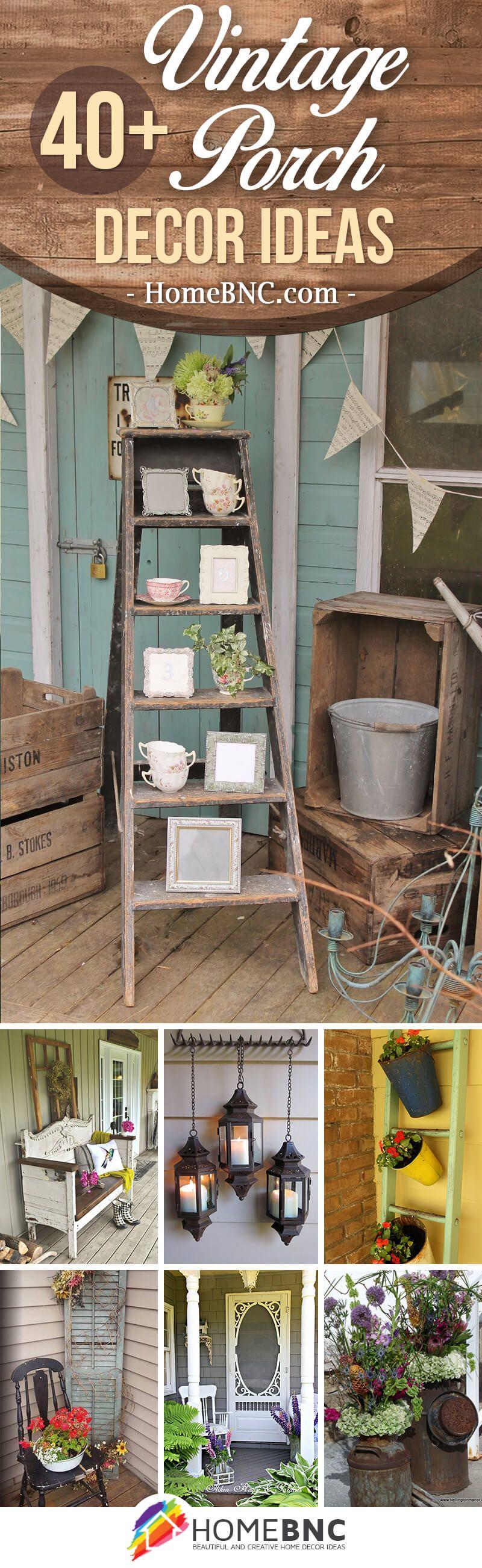 Vintage porch designs dise os decoraci n r stica para for Decoraciones rusticas para el hogar