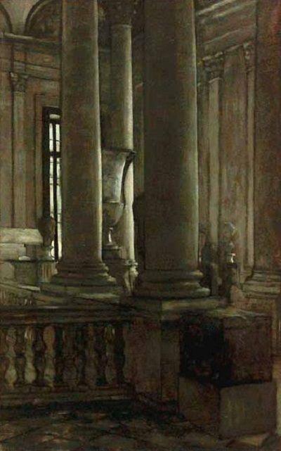 James Tissot - Escalier nord de la Colonnade