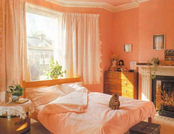 Decoracion dormitorios colores pastel dormitorum en 2019 - Colores pared dormitorio ...