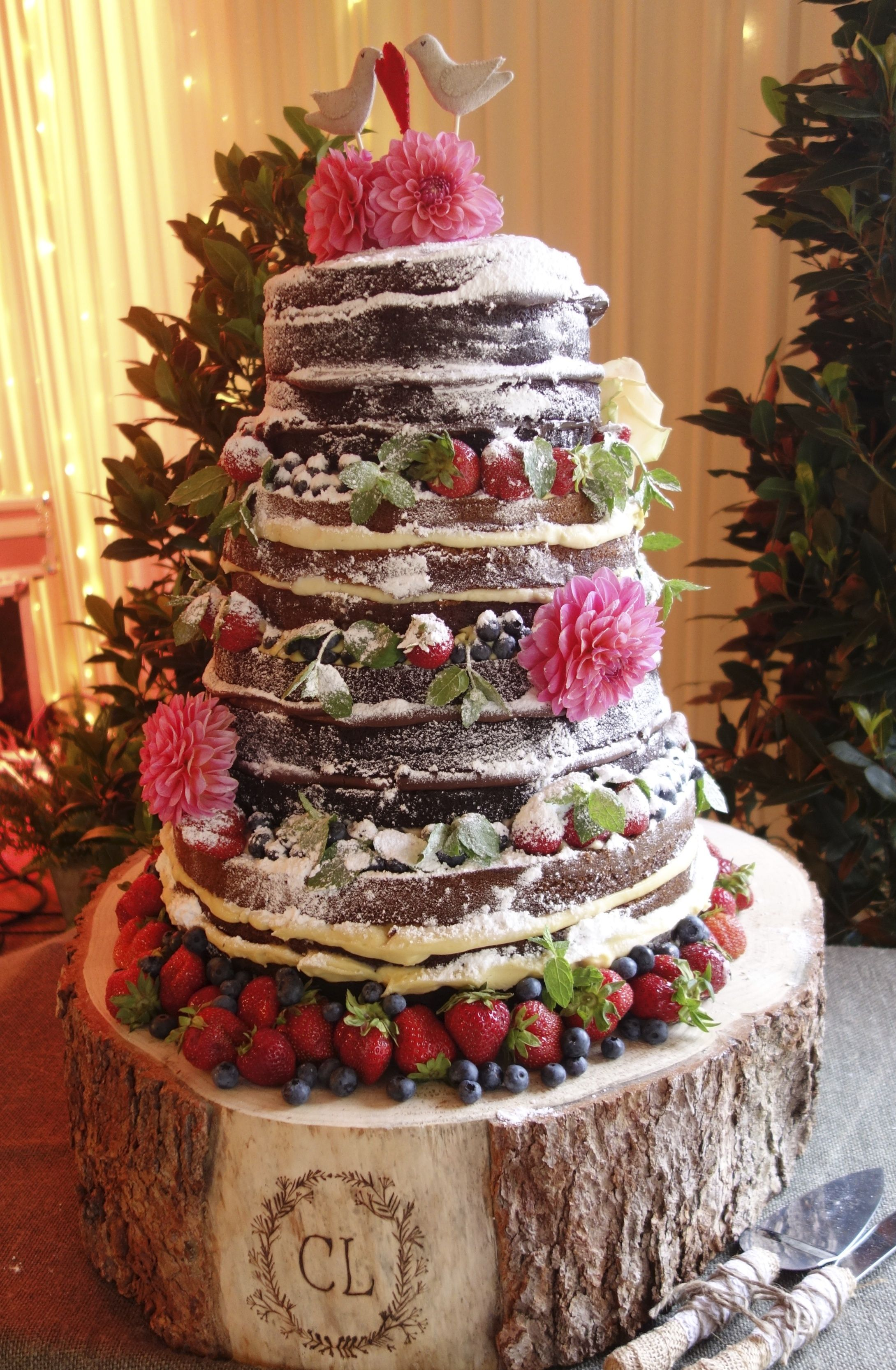 Here Is A Picture Of The Glorious Cake Stand That You Created For Our It Made All Way To Stockholm And Was Stunning Especially With
