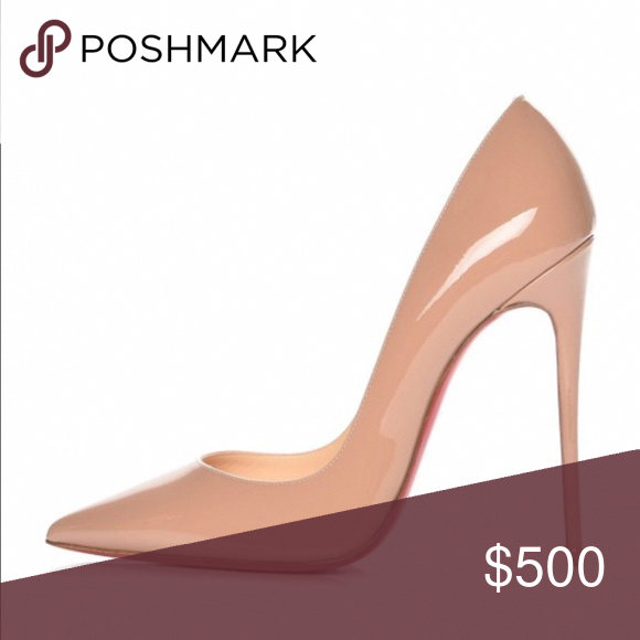 b1340f89f1ab CHRISTIAN LOUBOUTIN PUMPS CHRISTIAN LOUBOUTIN Patent So Kate 120 Pumps size  40 in Nude. Christian