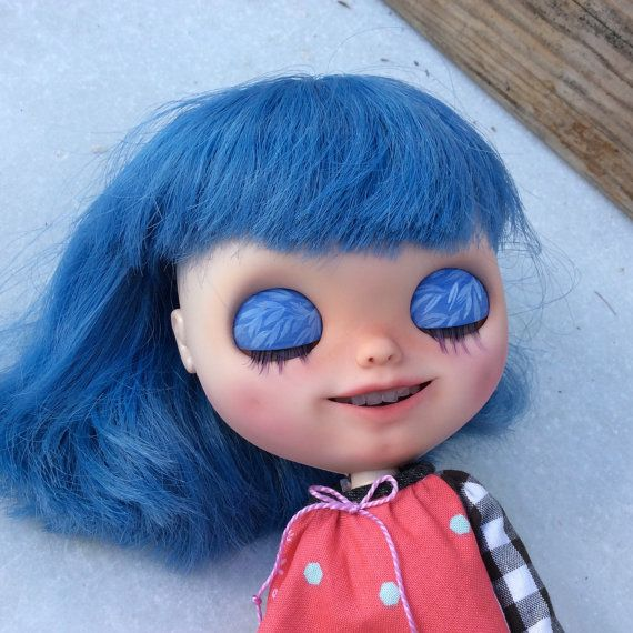 Ooak Custom Blythe doll original RBL with teeth by Blytheofmine