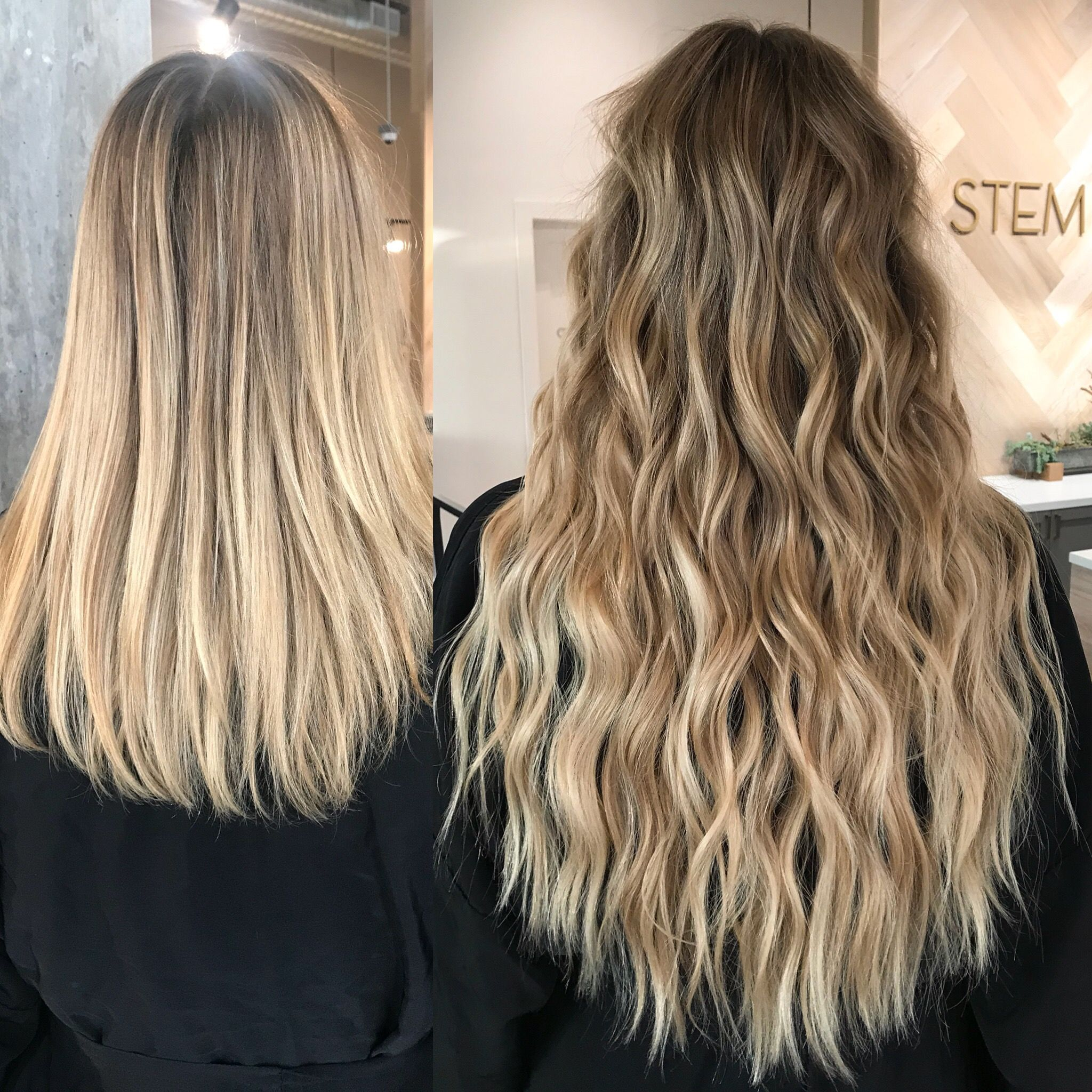 natural beaded rows extensions