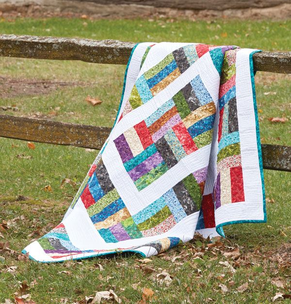 Around the Rail Fence Quilt | Popular, Quilt and The block : rail fence quilt block - Adamdwight.com