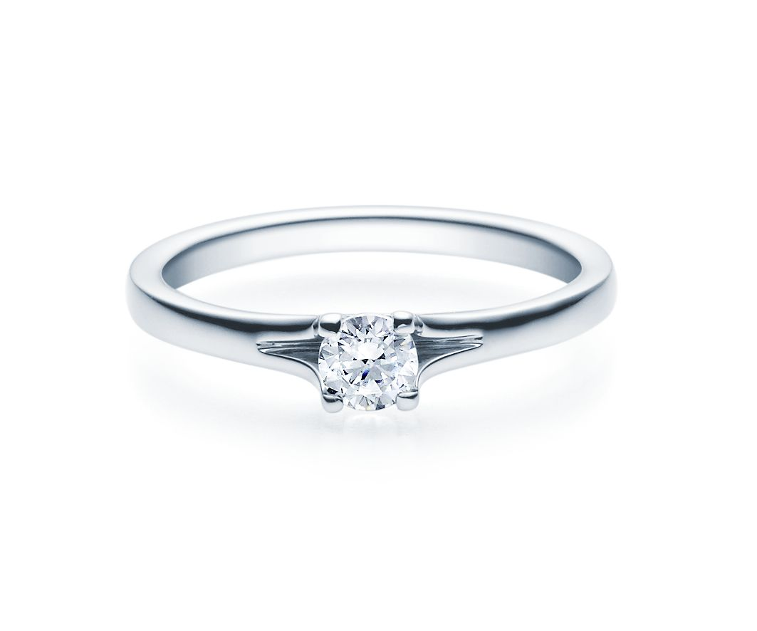 Verlobungsringe 585 Gold 0 30 0 40 Ct Tw Si Solitar Ring Verlobung