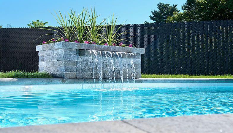 Leeroc pav s briques et pierres produits d 39 am nagement for Amenagement exterieur piscine creusee