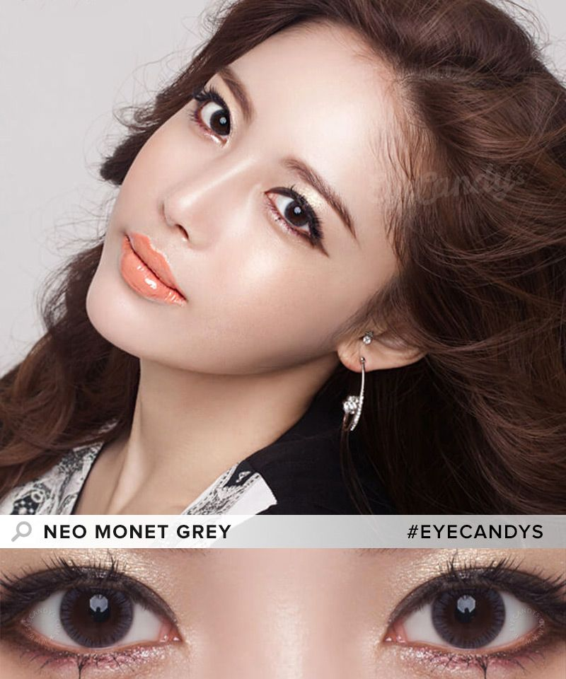 d53c1d7abb5 NEO Monet Brown circle lenses with simple enlargement rim. These toric color  contacts are designed for people with astigmatism. SHOP NOW