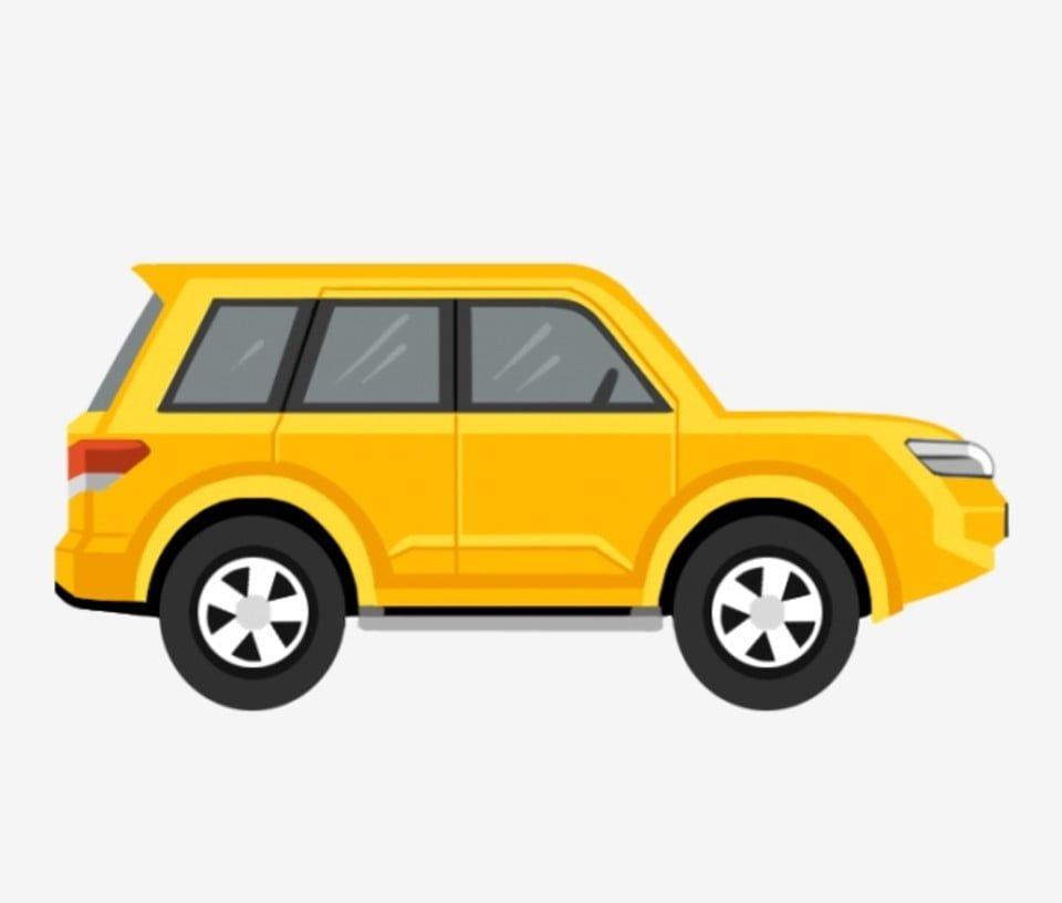 Cartoon Car Hand Painted Car Hand Drawn Car Yellow Car Toy Toy Car Suv Transportation Car Traffic Car Clipart Cartoon Clipart T Car Cartoon Car Emoji Car Icons