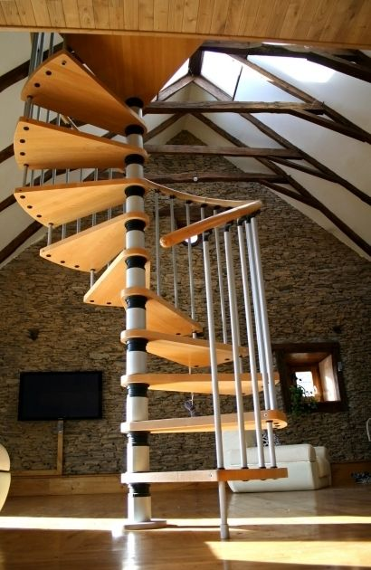 Best Amazing Modern Cheap Spiral Staircase Designs Pictures 46 400 x 300