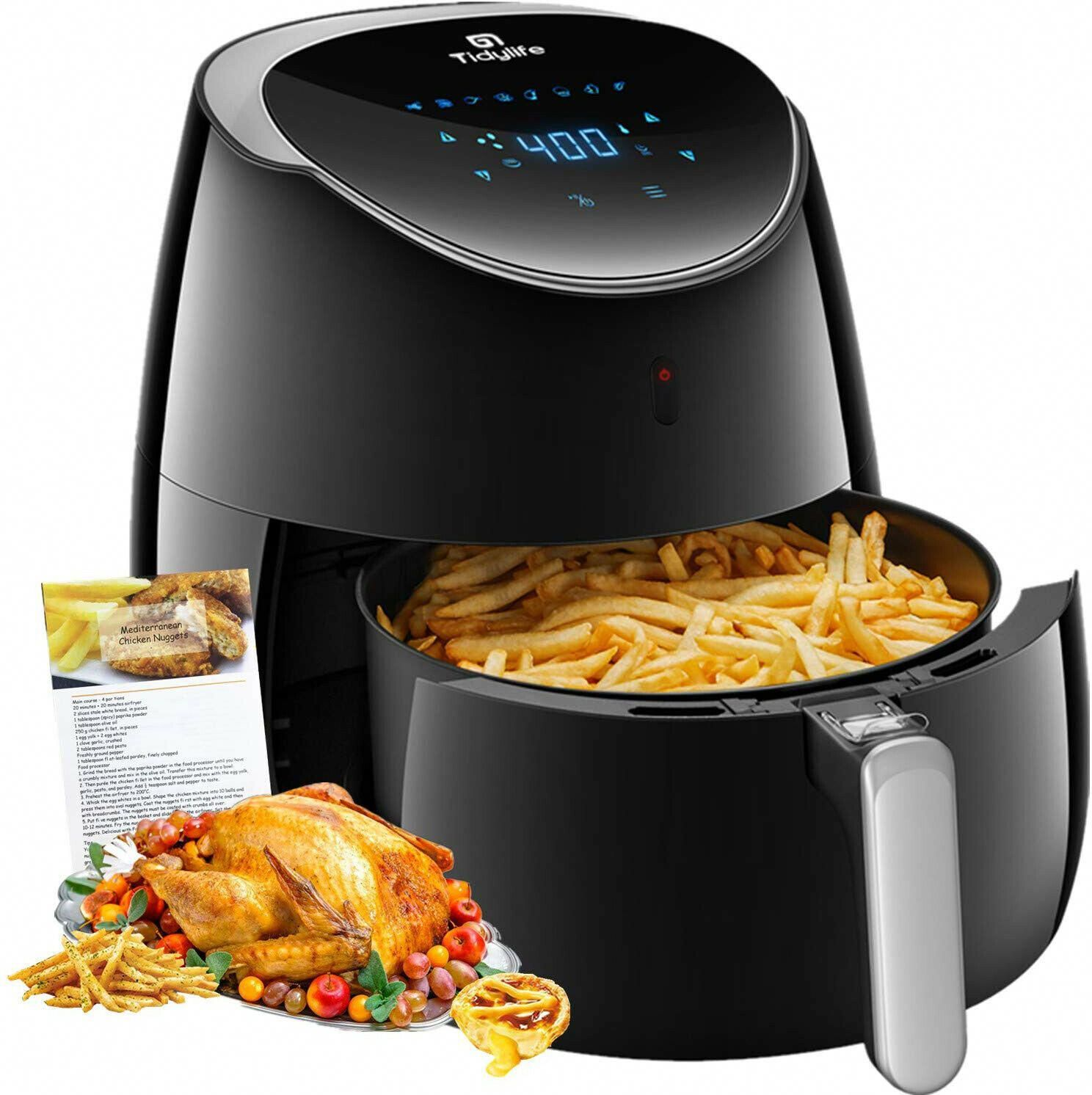 Top 10 Best Oil Less Fryers Reviews Buyer S Guide For 2020 With
