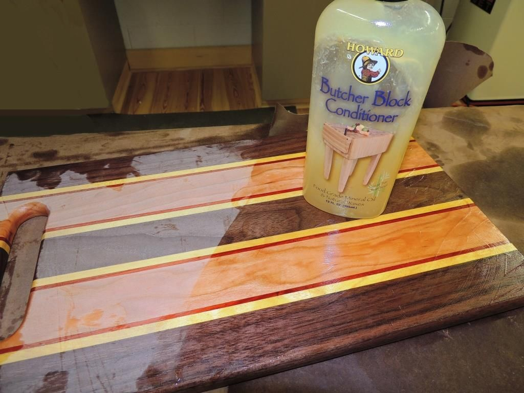 Howard S Butcher Block Conditioner Contains Not Only Mineral Oil But Added Carnauba Beeswax For Water