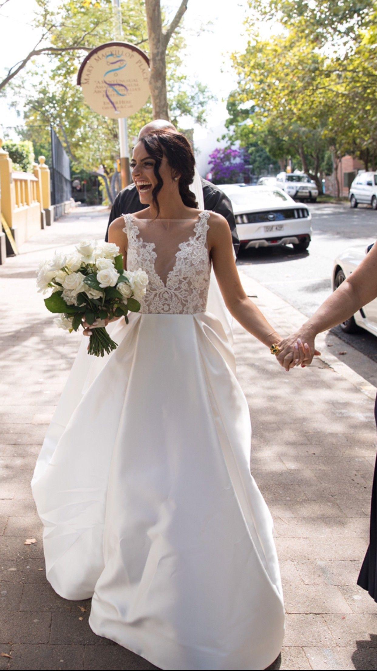 Lazaro Estela 3658 Veil Wedding Dress Wedding Dresses Lazaro