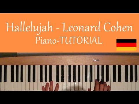 Wie man Hallelujah von Leonard Cohen auf Piano/Klavier spielt [deutsch/german] -… – Regina Fuchs