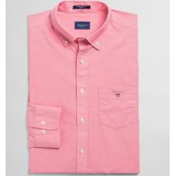 Photo of Gant Regular Fit Broadcloth Shirt (Pink) Gant