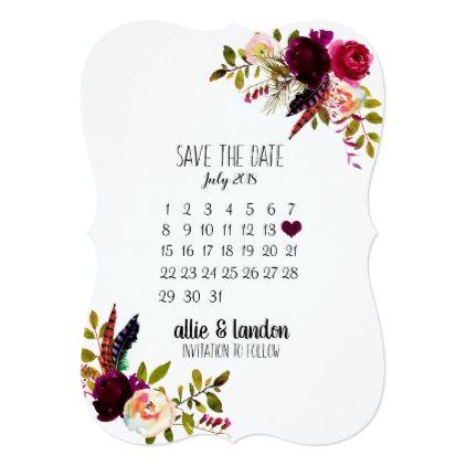 Save The Date Calendar Zazzle Com In 2021 Save The Date Invitations Save The Date Wedding Save The Dates