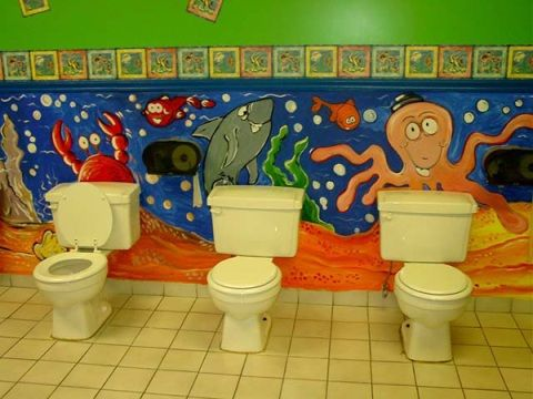 Kids Bathroom Decorating Ideas With Images Kid Bathroom Decor