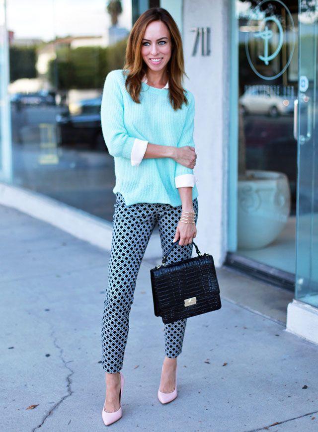 25ebe78275c Sydne Style - How to wear  oldnavy Pixie pants!  daytime  pastels   printedpants  fallweather  falltrend  sydnesummer  sydnestyle  oldnavystyle