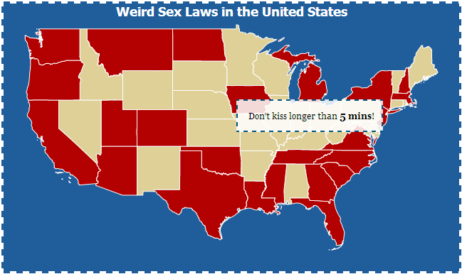 weird sex laws in the us