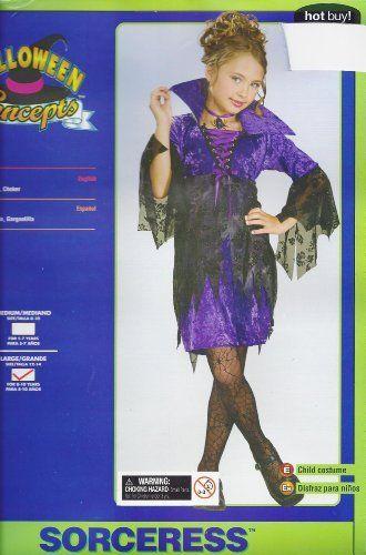 Sorceress Costume Halloween Child Large 12 14 Rubie's Costume Co. by Rubie's Costume Co.. $19.99