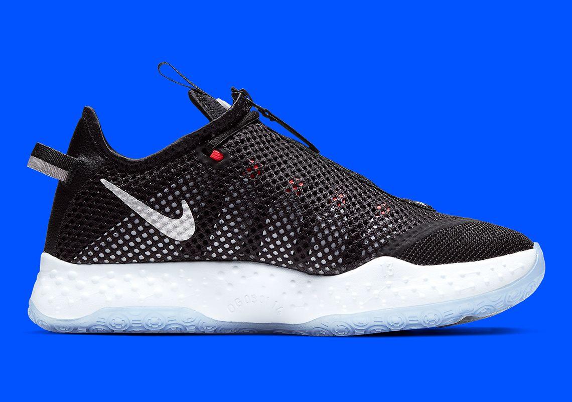 derrochador viernes Agresivo  Nike PG 4 Paul George Shoes CD5079-001 | SneakerNews.com in 2020 | Paul  george shoes, Black basketball shoes, Nike