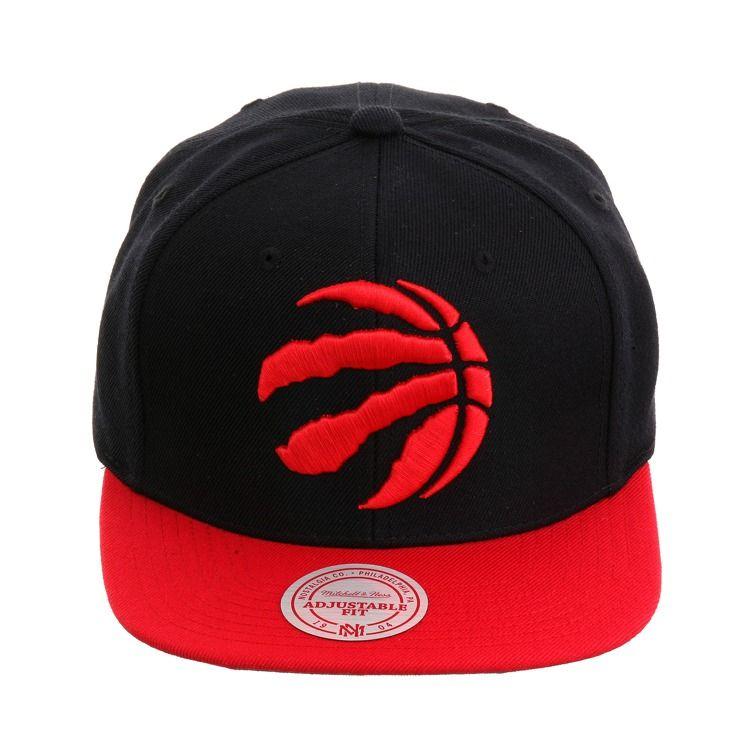 816340f5579 Mitchell   Ness Toronto Raptors Snapback - 2T Black
