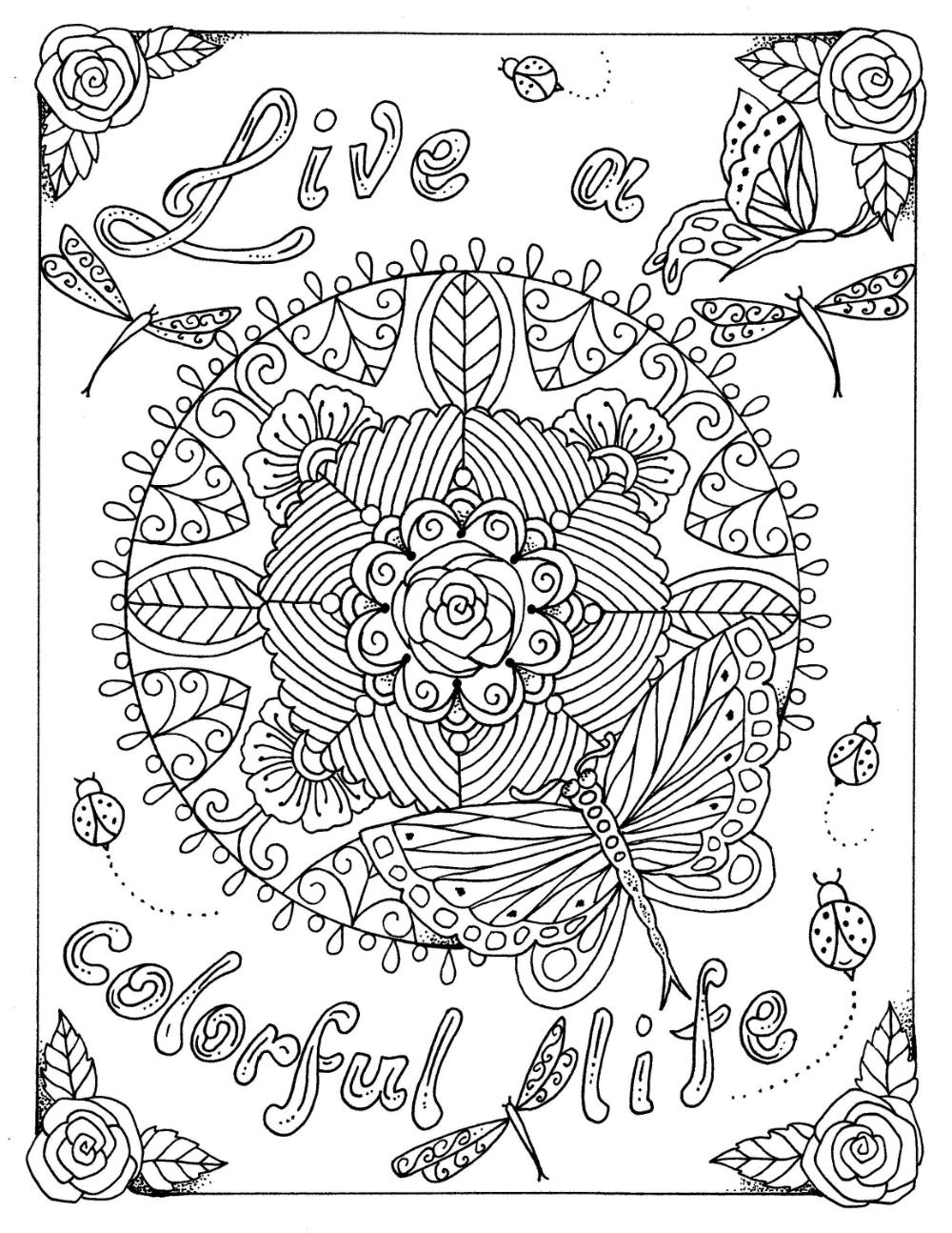 instant kleurplaat live een kleurrijke leven digi