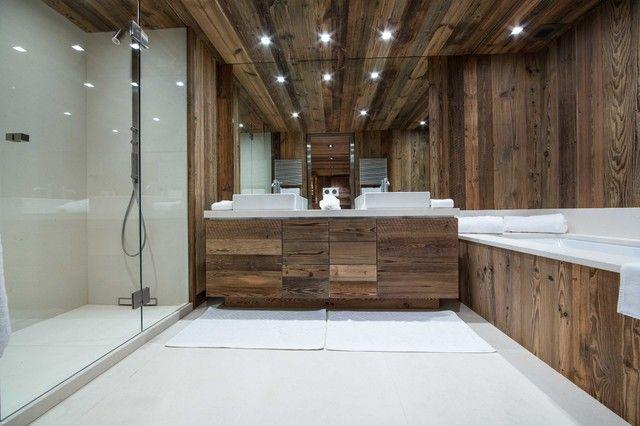 La salle de bain esprit chalet de montagne - masalledebain.com | Man ...
