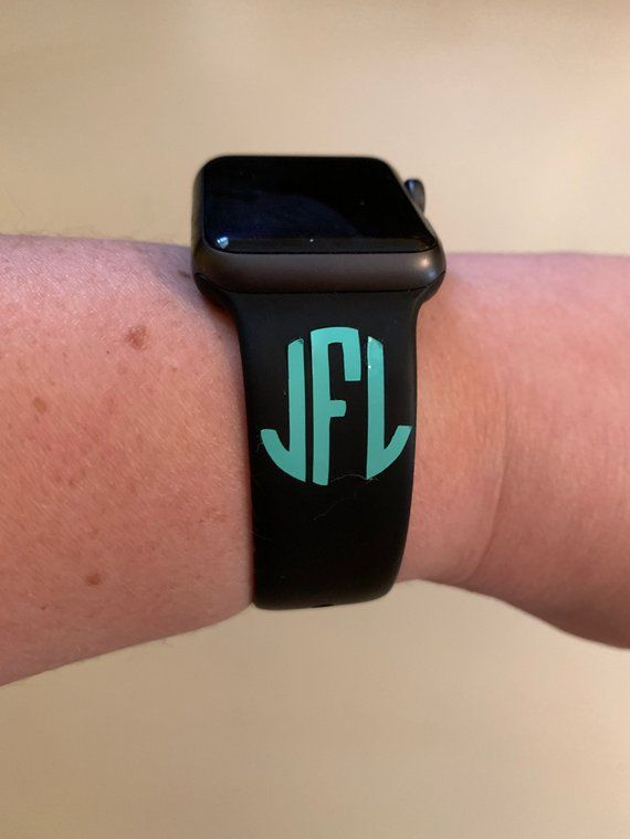 Apple Watch Monogram disney magic band decal monogram