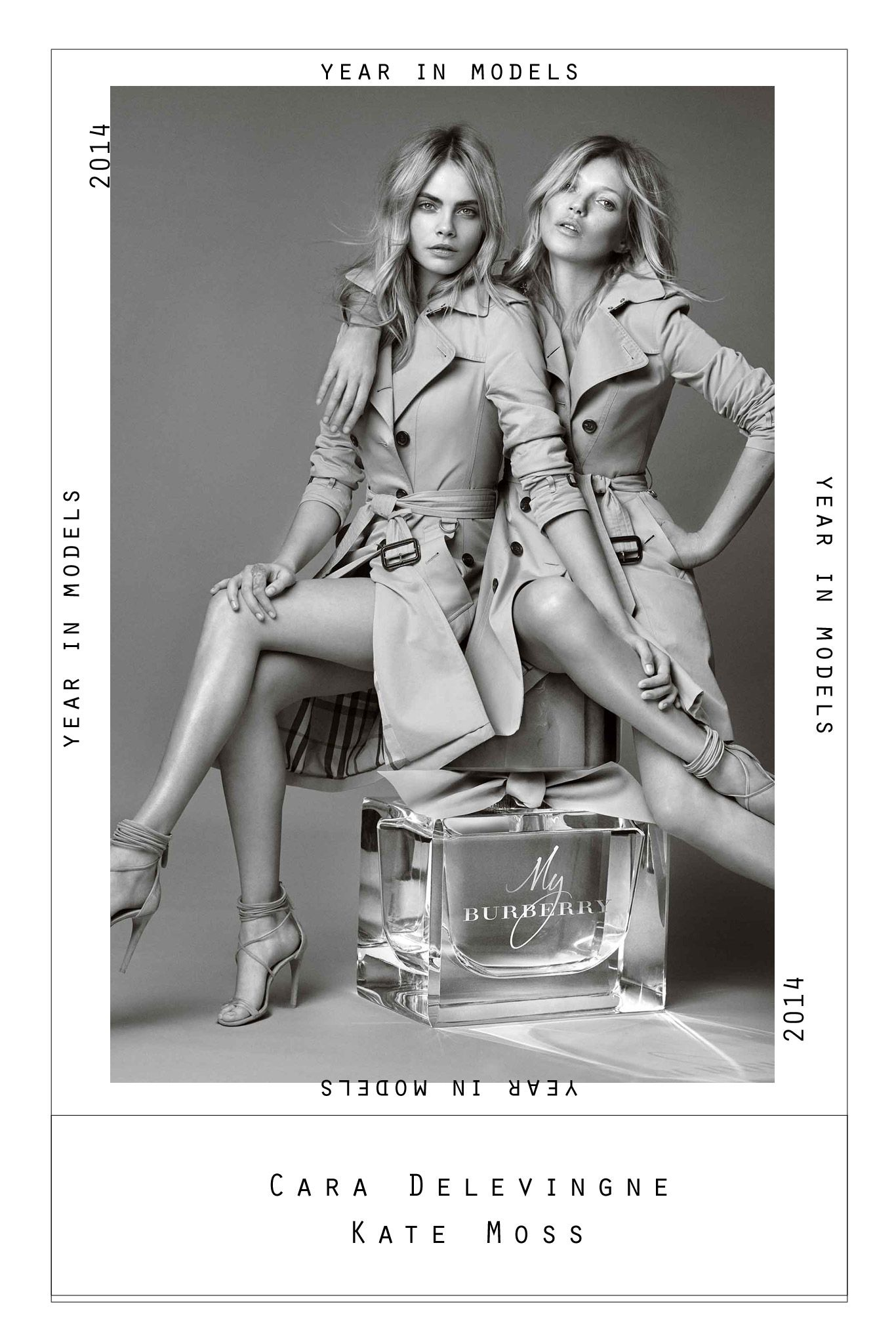 2014 The Year in Models Burberry fragrance
