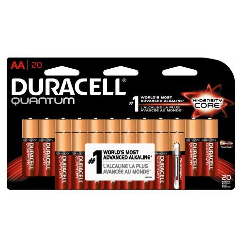Duracell Quantum Alkaline Aa Batteries 20count Click Image To Review More Details Note It Is Affiliate Link To Amazon Duracell Homeaudio Batteries