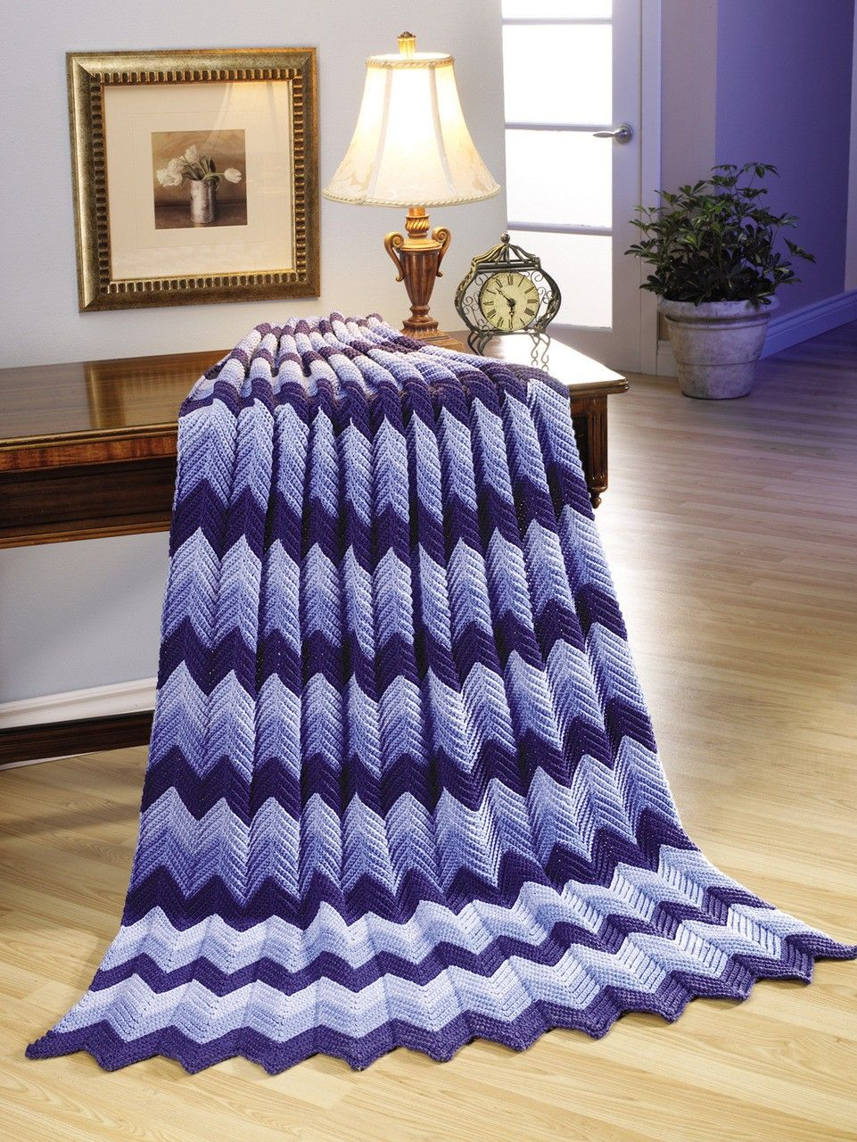 Download Easy Ripple Afghan Crochet Patterns in The Best of Mary