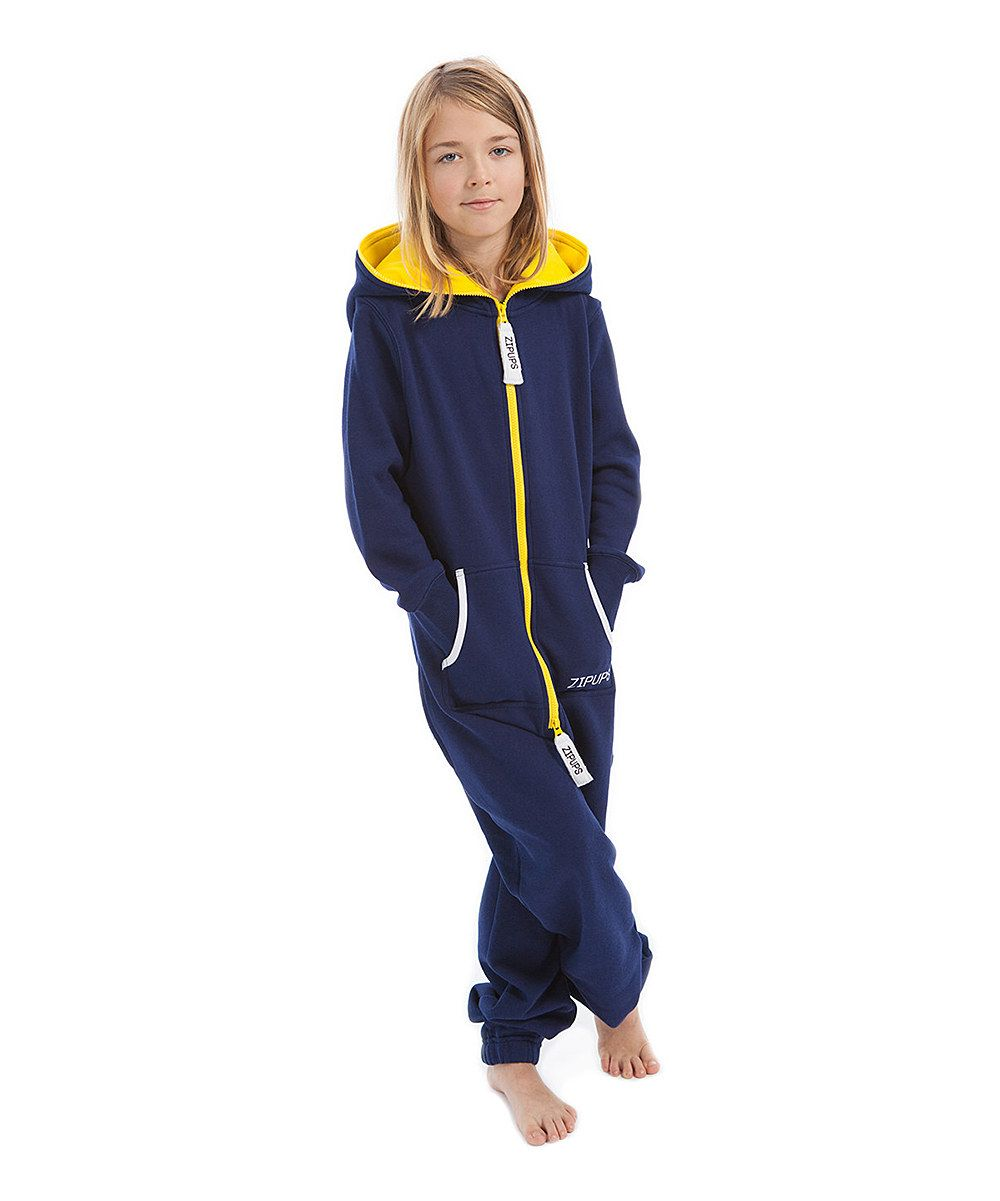 Blue Amp Neon Yellow Jumpsuit Kids Yellow Jumpsuit