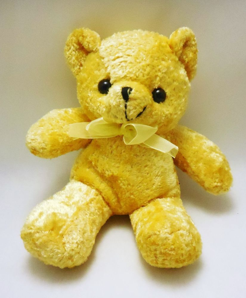Toymax Small 8 Plush Yellow Teddy Bear Xyz Plush Inc Toymaxxyzplushinc Yellow Teddy Bear Teddy Bear Bear [ 1000 x 825 Pixel ]
