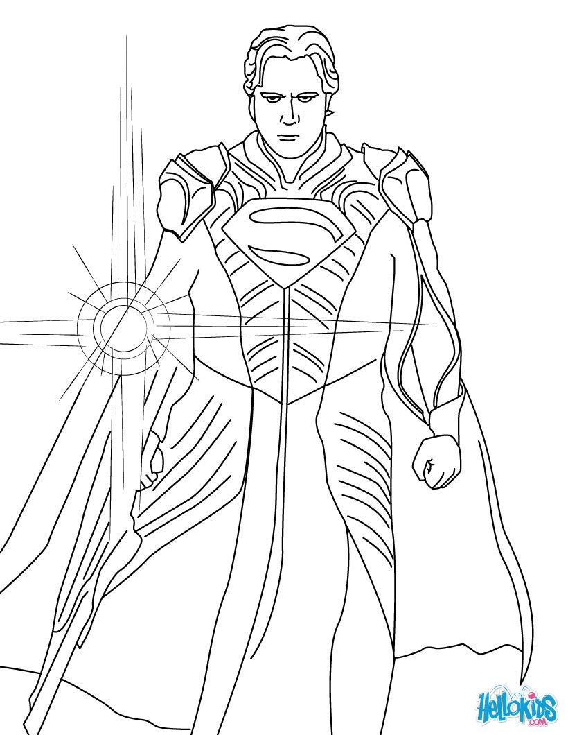 This beautiful Jar-El coloring page from Superman coloring pages is ...