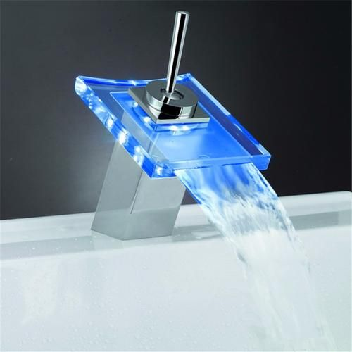 Temperature Sensing LED Faucet