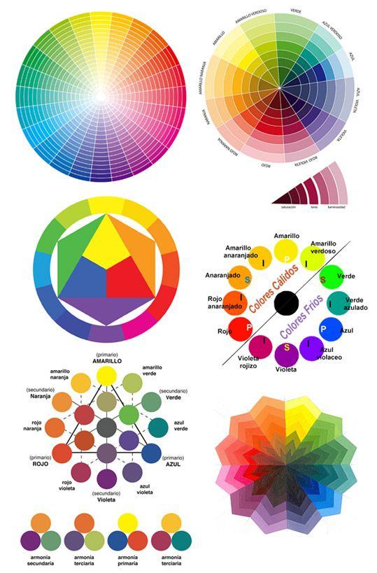 Circulo cromatico 2 | Patrones | Pinterest | Color wheels, Drawings ...