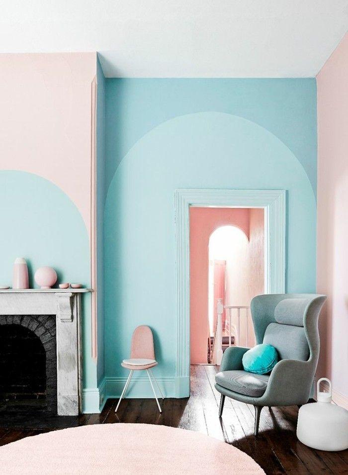Schlafzimmer Wandfarbe Ideen in 140 Fotos! Schlafzimmer Ideen