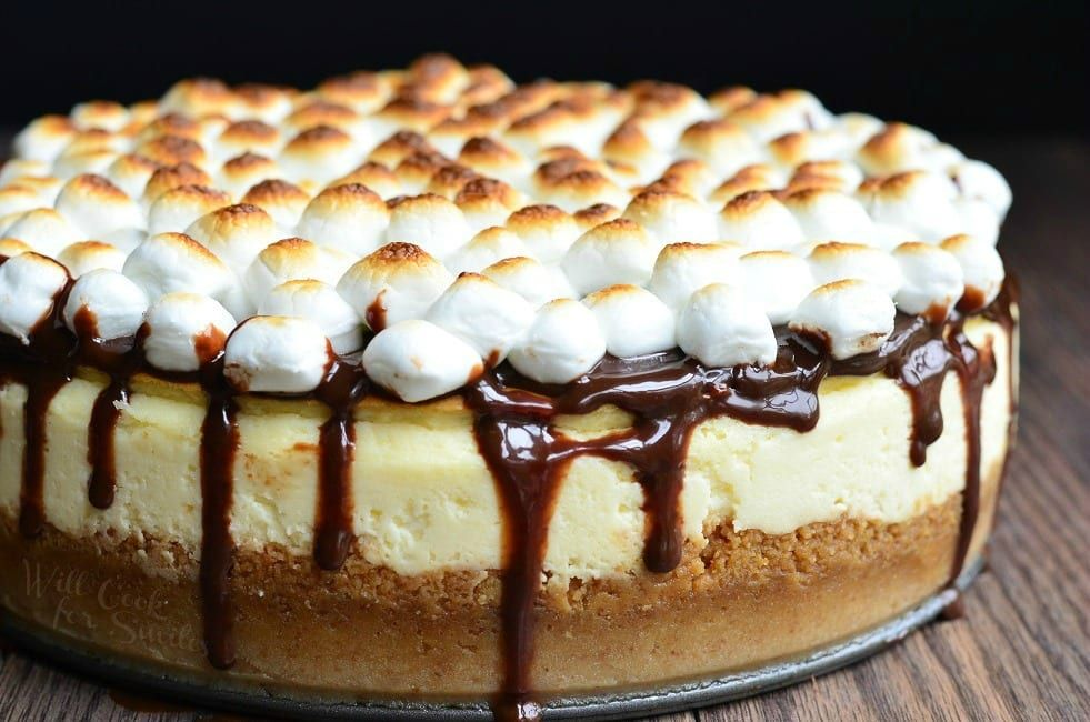 SMores Cheesecake Recipe Will Cook For Smiles Cheesecake Recipe  Will Cook For Smiles, cheesecake, Cheesecake.Read More About This Recipe  Click here