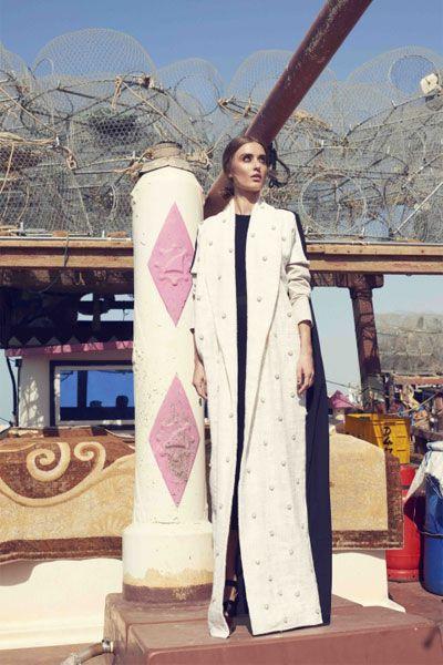 عبايات بيضاء لإطلالة ملائكية في رمضان 2015 Abayas Fashion Abaya Fashion Hijabista Fashion