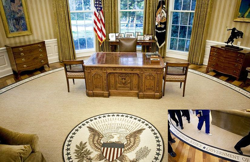 Oval Office Rugs In Presidential Style Oval Office Rugs President Barack Obama Rug Nazmiyal Blog Pinterest Rug And